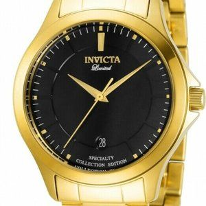 Invicta 31125 Specialty 40MM Men's Gold-Tone Watch